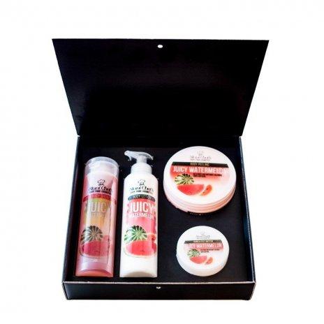 Zestaw naturalnych kosmetyków o zapachu soczystego arbuza 580 ml