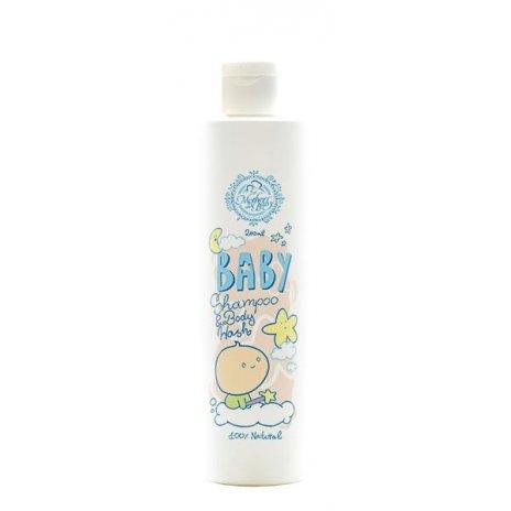 Prírodný šampón a telové mydlo pre bábätká 250ml