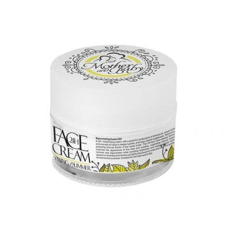 Natürliche 24-Stunden-Gesichtscreme für Mütter Frühling–Sommer 50 ml