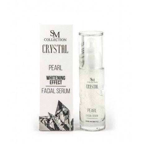 Prírodné tvárové gél sérum perla 30 ml