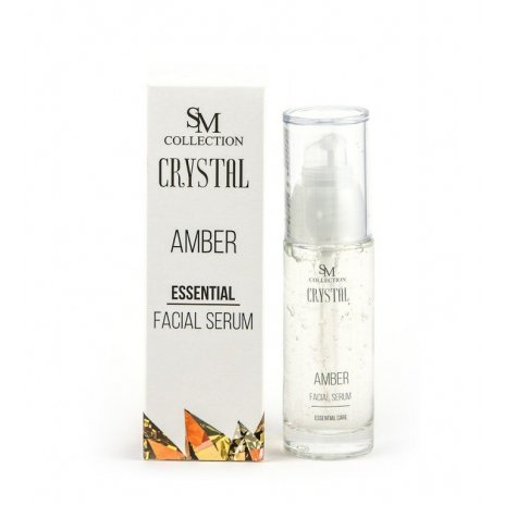 Přírodní obličejové esenciální gel sérum jantar 30ml