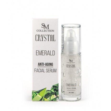 Natürliches Anti-Aging-Gesichtsgelserum Smaragd 30 ml