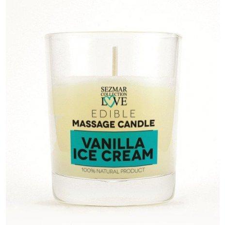 Naturalna świeca do masażu wanilia 100 ml