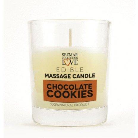 Natürliche Massagekerze Schokolade 100 ml
