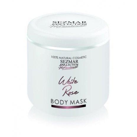 Natürliche Gesichts- und Körpermaske weiße Rose – 500 ml