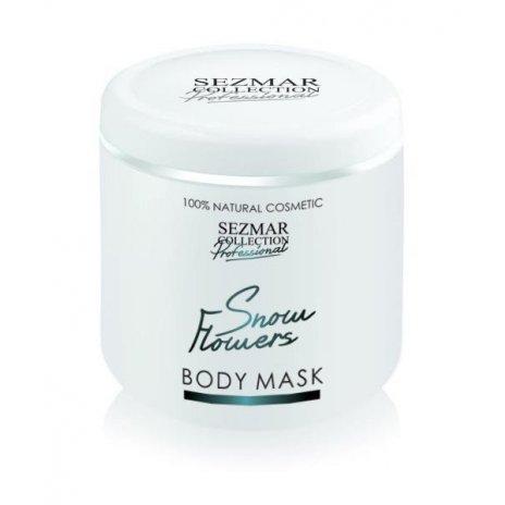 Naturalna maska do ciała i twarzy płatki śniegu 500 ml