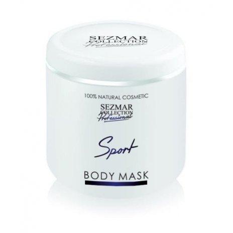 Prírodná maska na tvár a telo šport 500 ml