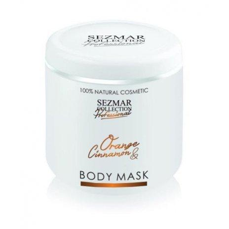 Natürliche Gesichts- und Körpermaske Orange & Zimt – 500 ml