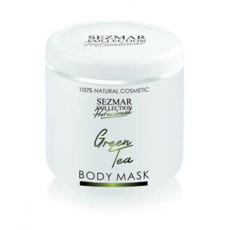 Prírodná maska na tvár a telo zelený čaj 500 ml