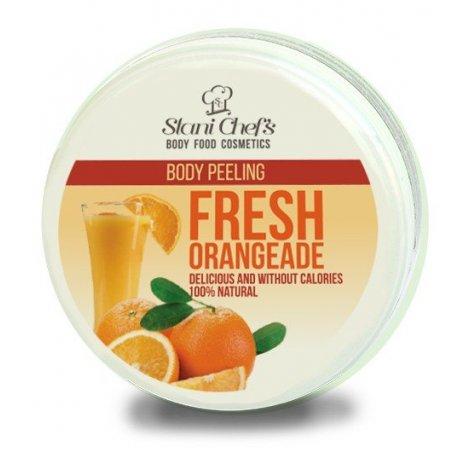Telový peeling čerstvá oranžáda na báze morské soli 250 ml