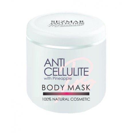 Natürliche Anti-Cellulite-Körpermaske mit Ananas 500 ml