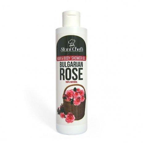 Natürliches Duschgel bulgarische Rose 250 ml