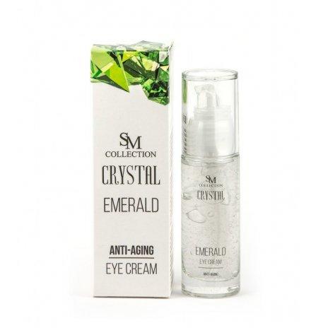 Natürliche Anti-Aging-Augencreme Smaragd 30 ml