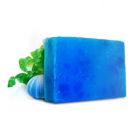 Naturalne ręcznie robione mydło z wyciągiem z alg morskich 100 gr