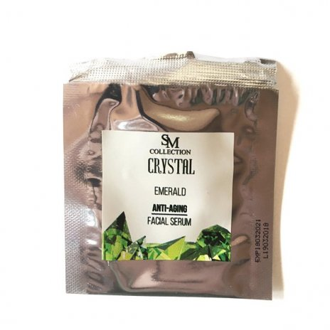 Přírodní obličejové gel sérum smaragd anti-aging 5 ml