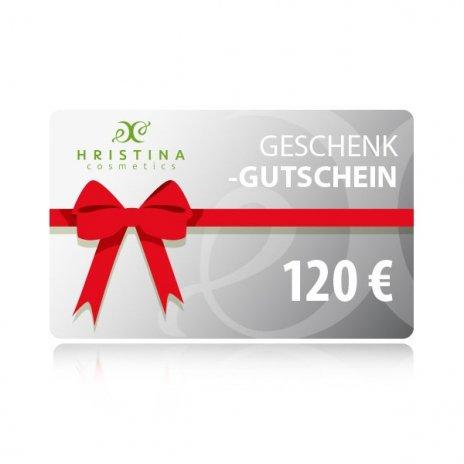 Elektronischer Geschenkschein 120 €