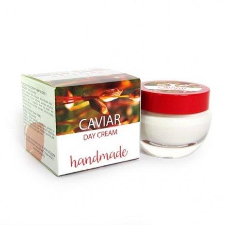 Prírodný ručne vyrobený denný krém s kaviárom 50 ml