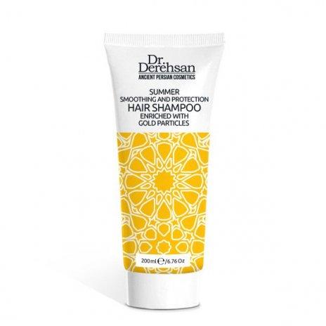 Natürliches Shampoo mit Goldpartikeln für den sommer 200 ml
