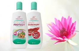 Chemiefreie Shampoos, die dank des Gewöhnlichen Seifenkrauts reich schäumen.