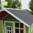 Zahradní cedrový domeček Exit Loft 300 zelený
