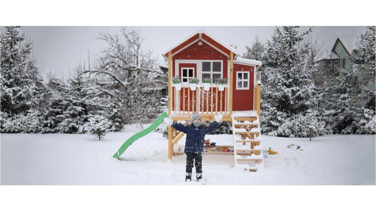Proč si hrát v zimě venku?