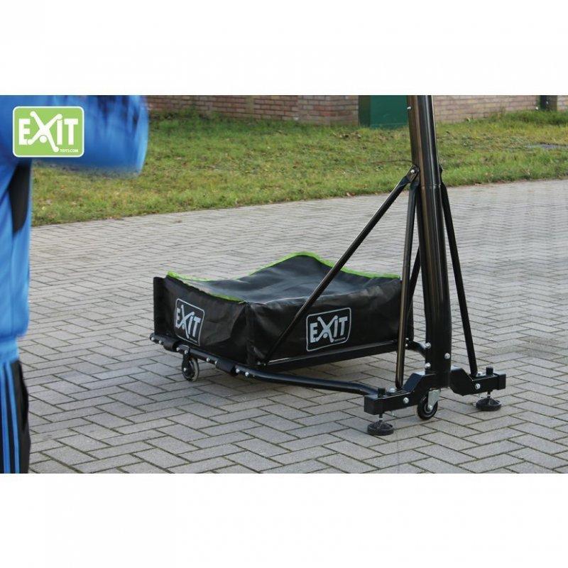 Basketbalový koš přenosný Exit Galaxy Black