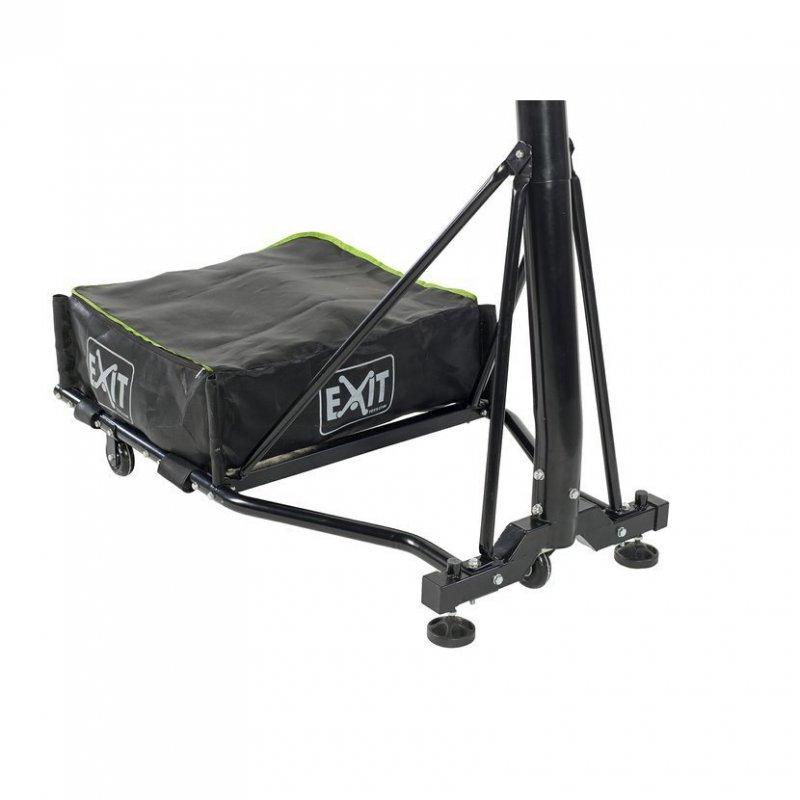 Basketbalový koš přenosný Exit Galaxy Black + Dunkring