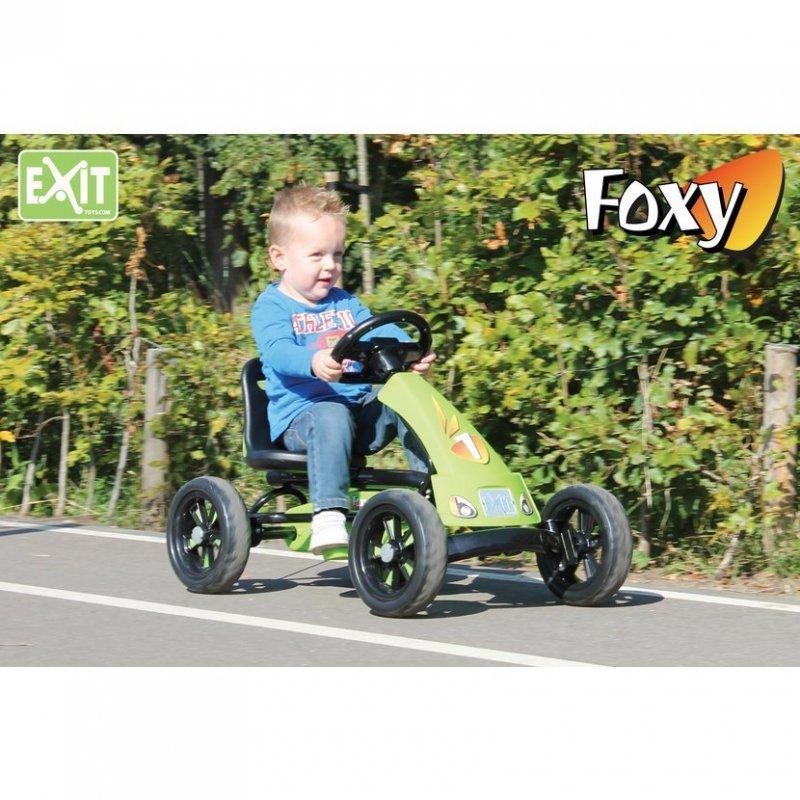 Šlapací kára Foxy