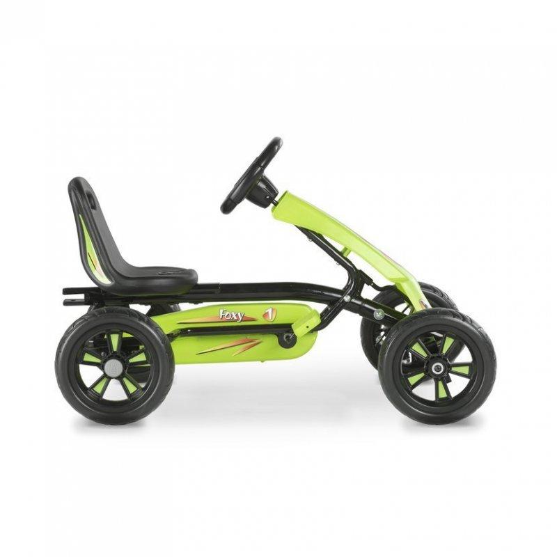 Šlapací kára Foxy + přívěsný vozík