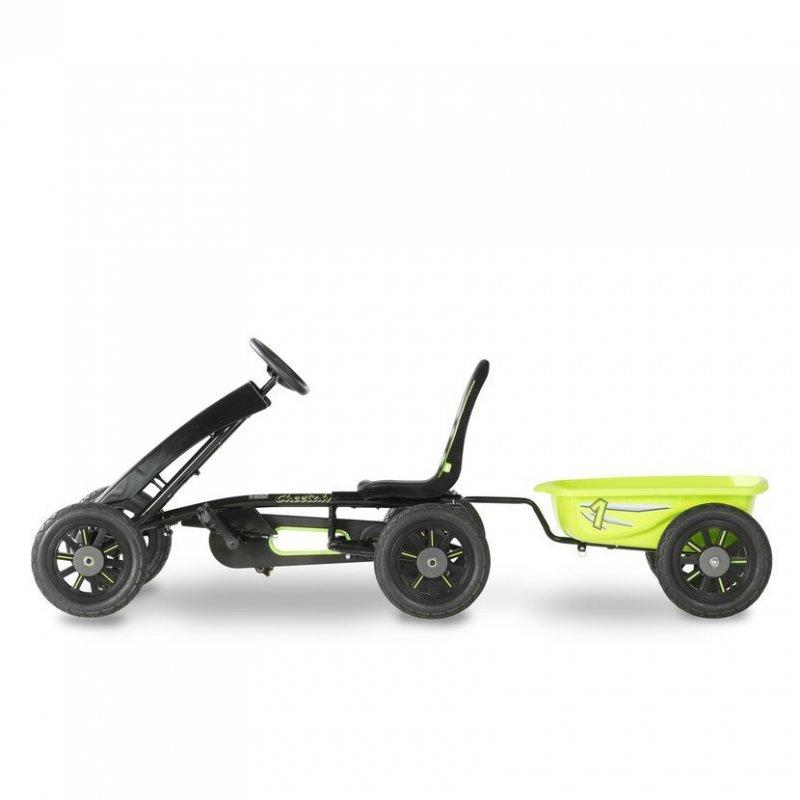 Šlapací kára Cheetah + přívěsný vozík
