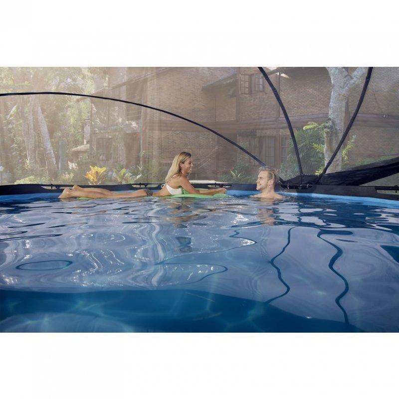 Bazén Exit ø300 x 76 cm s filtrací a krytem - barva limetková