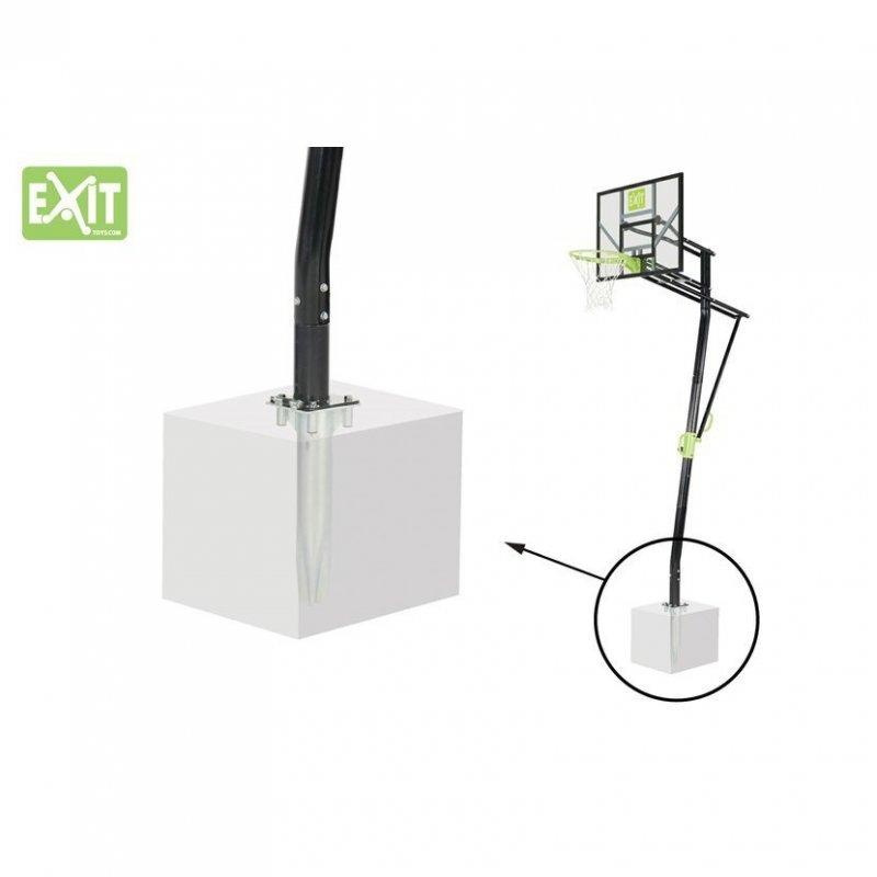Basketbalový koš do země Exit Galaxy