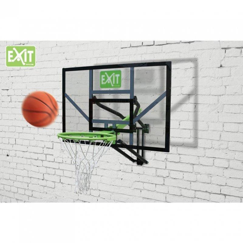 Basketbalový koš nástěnný Exit Galaxy Black + Dunkring