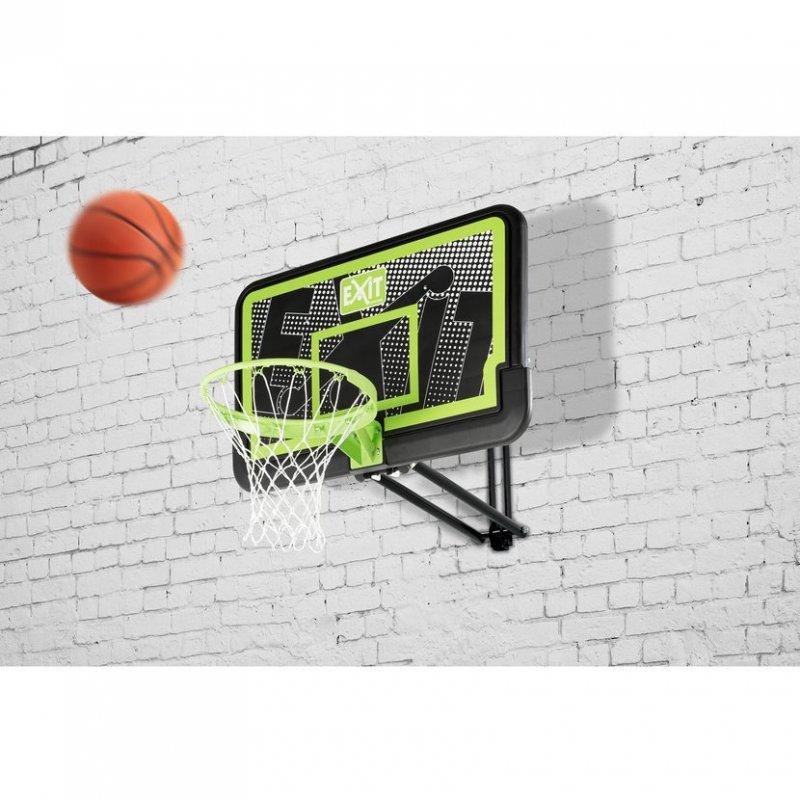 Basketbalový koš nástěnný Exit Galaxy Black