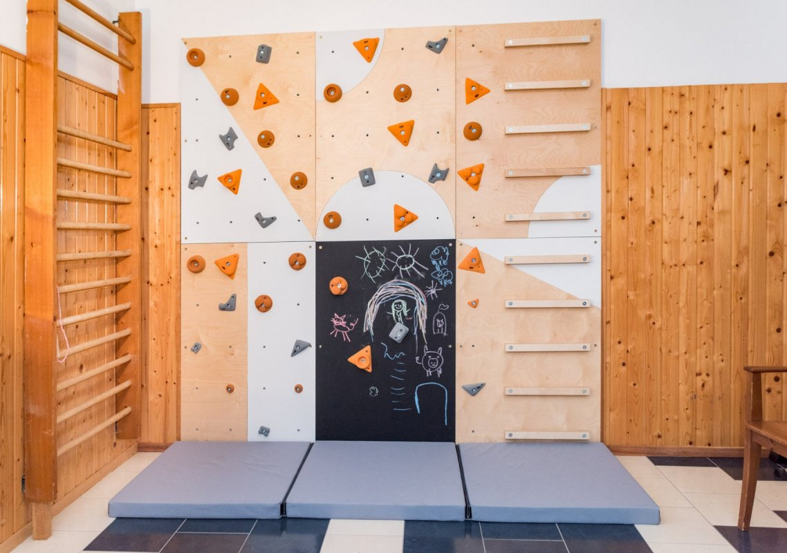 BLOCKids dopadová matrace k lezecké stěně