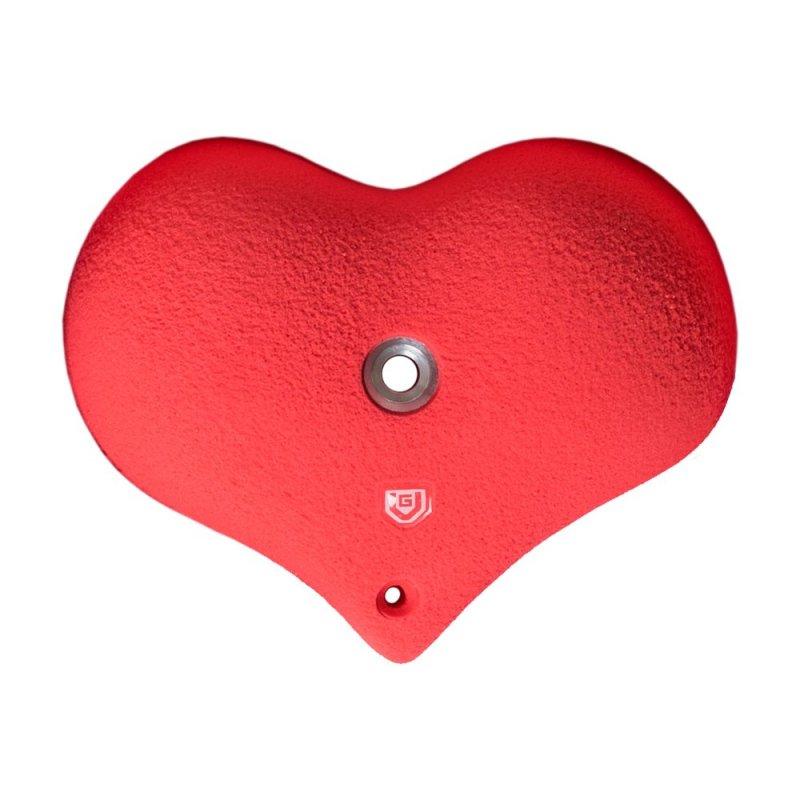 Lezecký chyt - Velké srdce Hardcore M