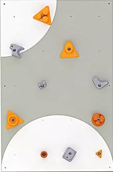 BLOCKids venkovní stěna na lezení - samostatná deska obdélník