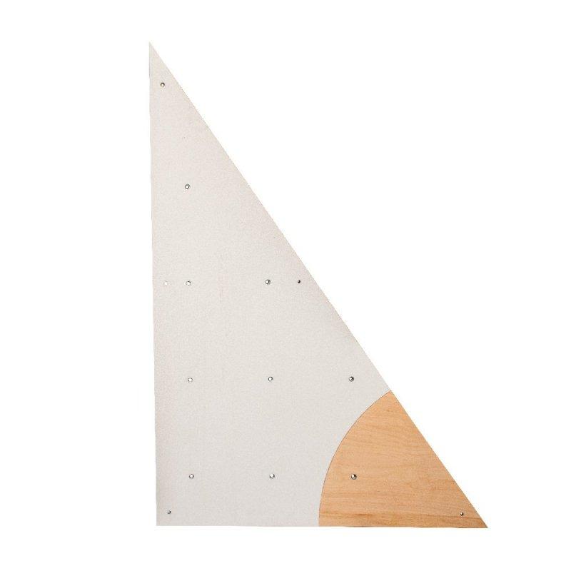 BLOCKids vnitřní - ⭐ samostatná deska k dětské stěně na lezení ⭐ trojúhelník pravý