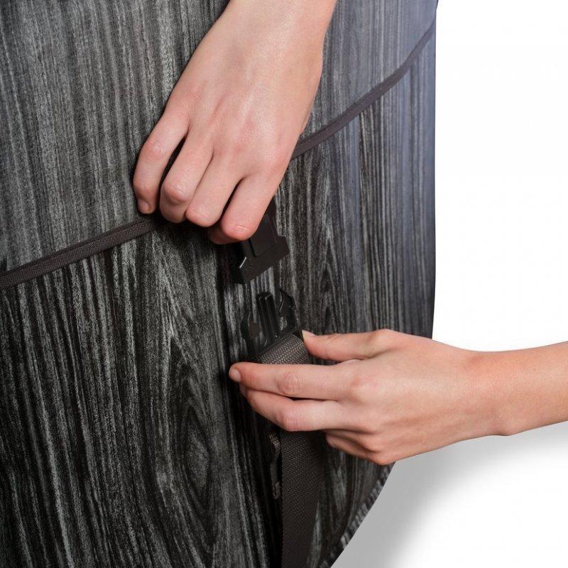 Vířivka Exit Wood DeLuxe spa ø 204 x 65 cm