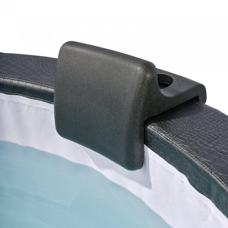 Sada opěrky hlavy a držáku nápojů pro vířivku Exit Leather Premium