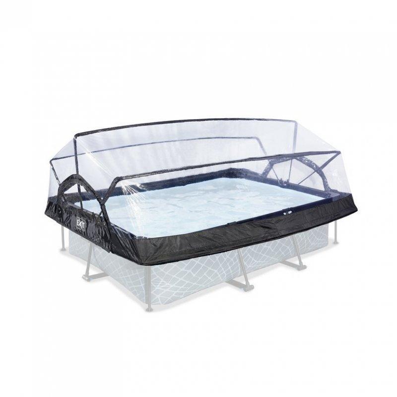 Kryt kopule EXIT na Bazény 220 x 150 cm