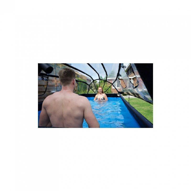 Kryt kopule EXIT na Bazény 400 x 200 cm