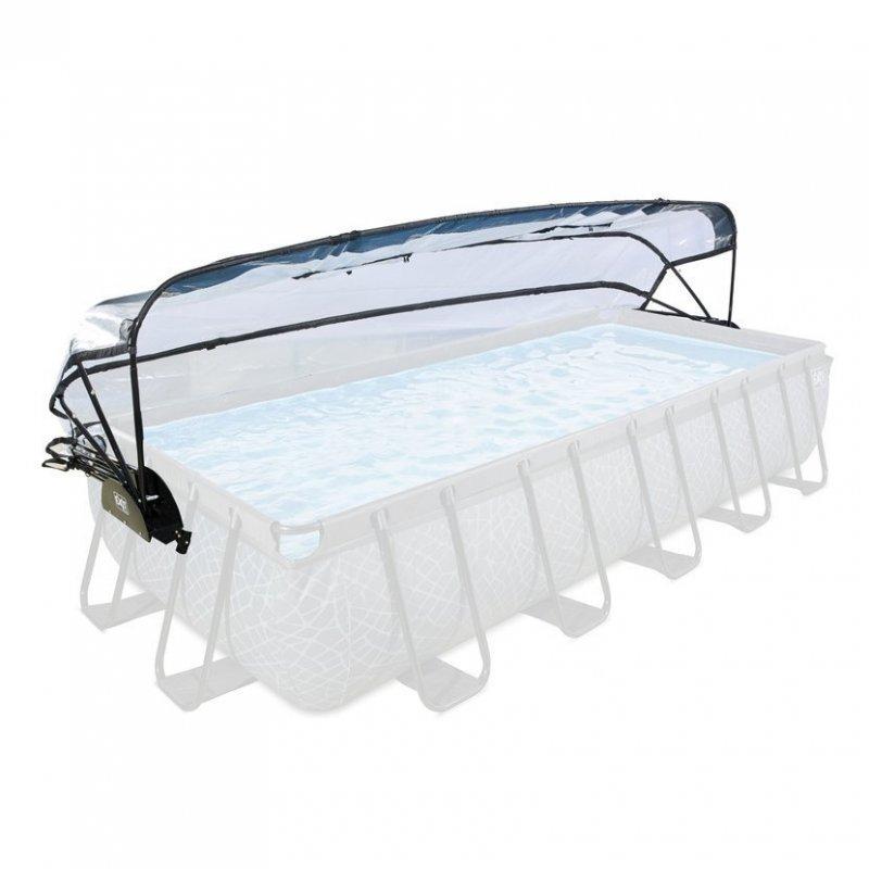 Kryt kopule EXIT na Bazény 540 x 250 cm
