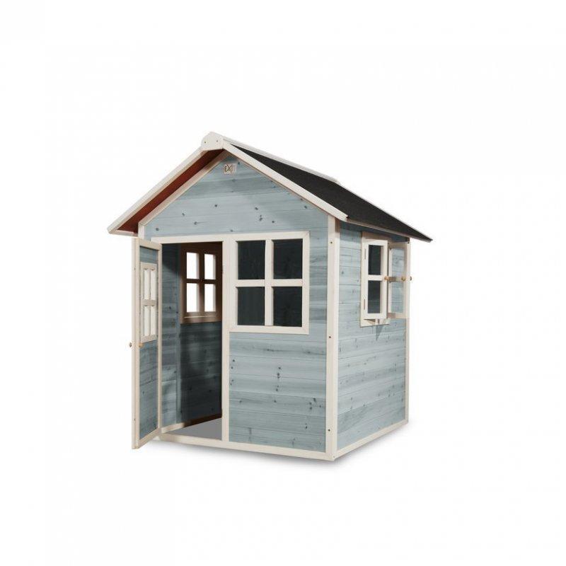 Zahradní cedrový domeček Exit Loft 100 modrý