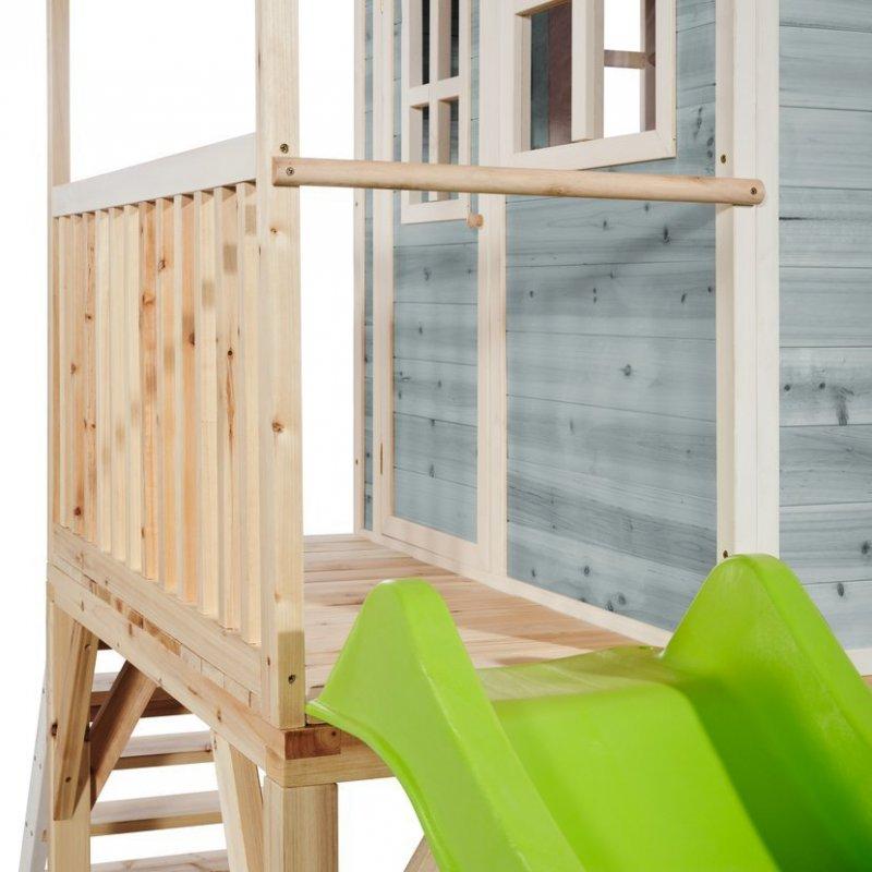 Zahradní cedrový domeček Exit Loft 700 modrý