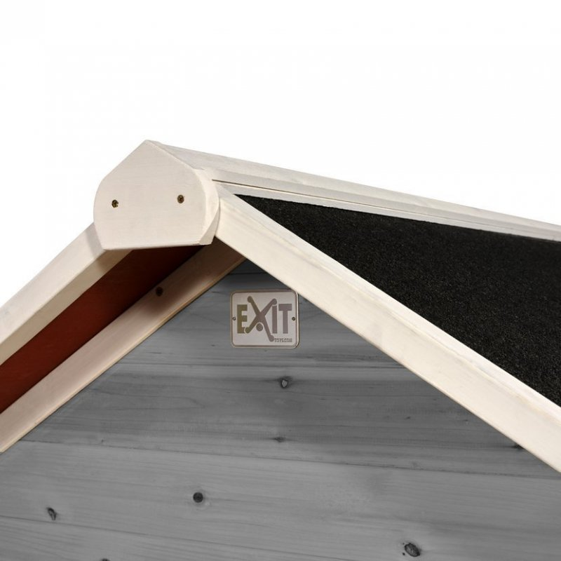 Zahradní cedrový domeček Exit Loft 100 šedý