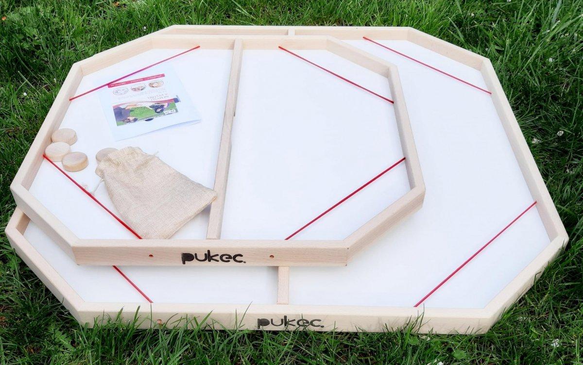 PUKEC pro 4 velký - Cvrnkaná 80 x 80 cm