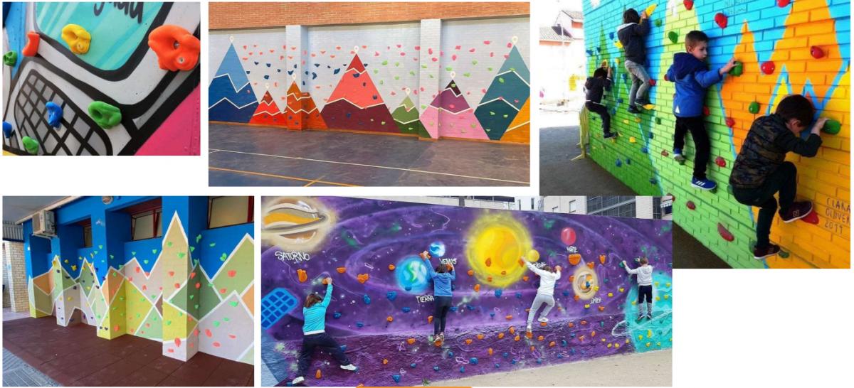 Interiérová ⭐ dětská lezecká stěna na míru ⭐