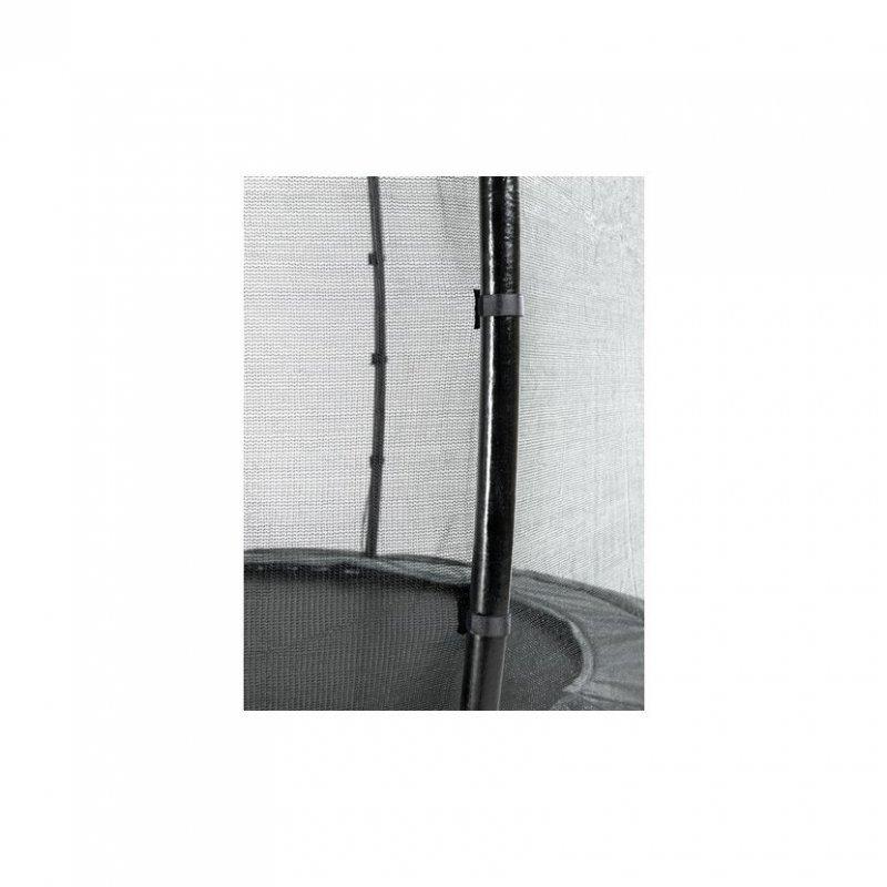 Trampolína EXIT Elegant se sítí Economy 244 x 427 cm Fialová