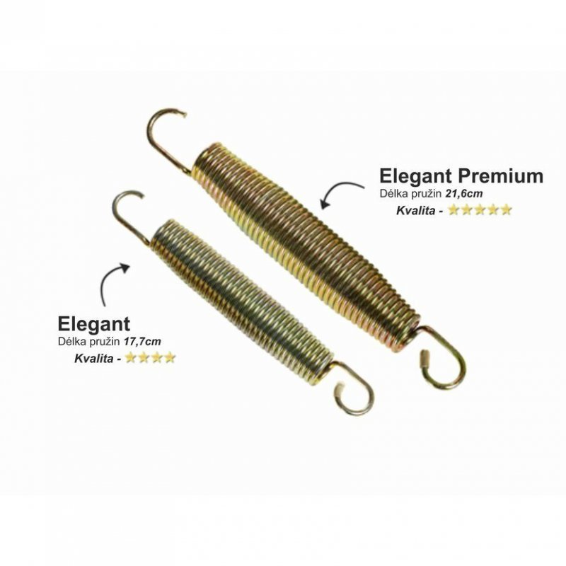 Trampolína EXIT Elegant Premium se sítí Deluxe 305 cm Fialová
